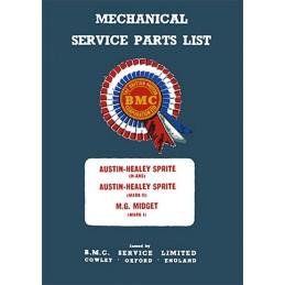 Catalogue de Pieces MK1 / MK2