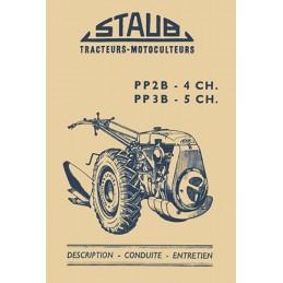 Motoculteur PP2B / PP3B