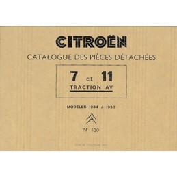 Catalogue Pieces Detachées 7/11