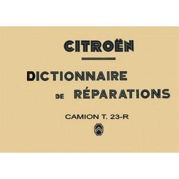 Dictionnaire de Reparation 1951