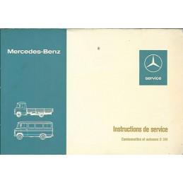Notice d' Entretien 1976
