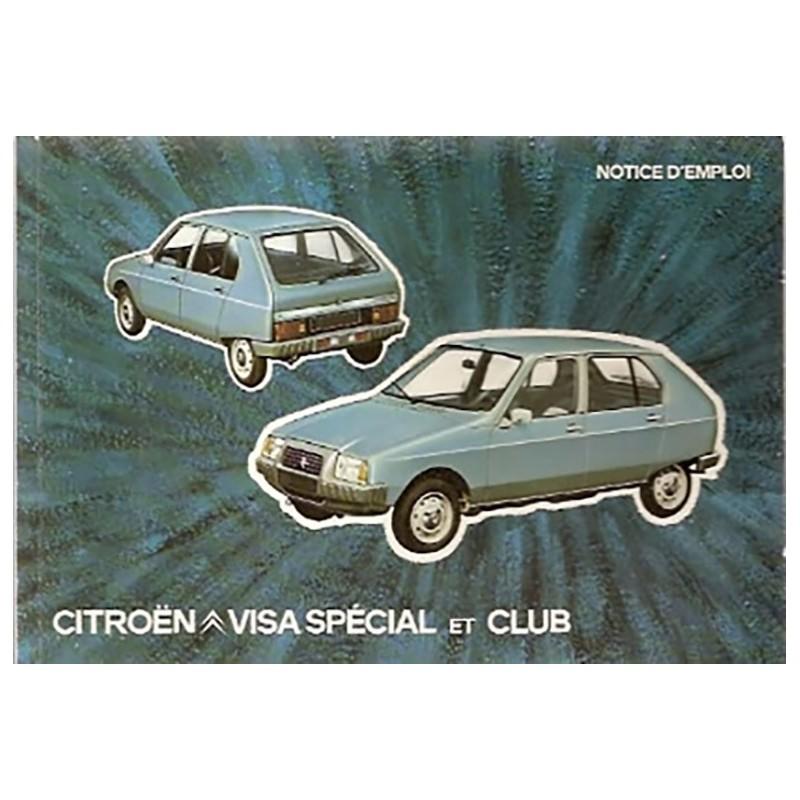 Notice d' Entretien  Special-Club
