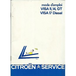 Notice d' Entretien Visa GT