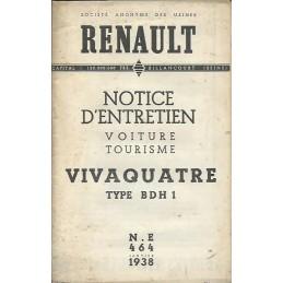 Notice d' Entretien BDH 1