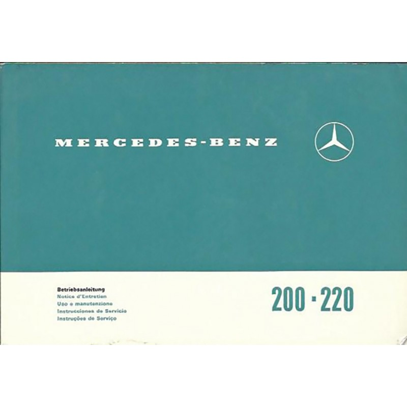 Notice d' Entretien  200 / 220