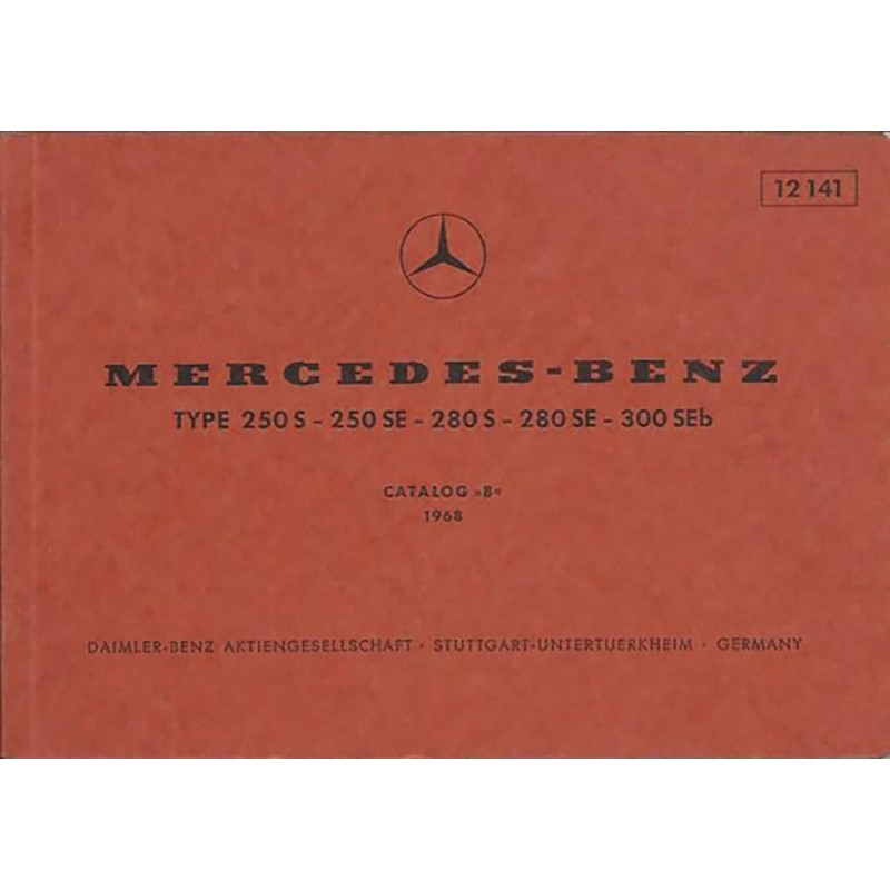 Catalogue de Pieces  250-280-300