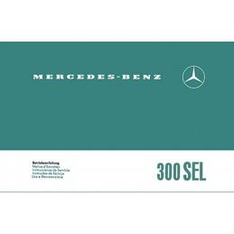 Notice d' Entretien  300 SEL
