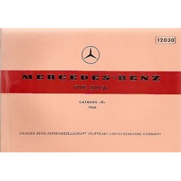 Catalogue de Pieces  220 Sb