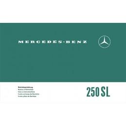 Notice d' Entretien  250 SL