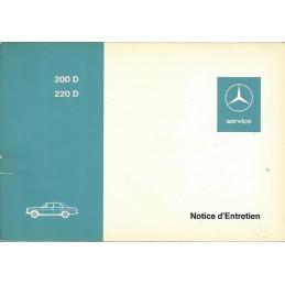 Notice Entretien  200D - 220D