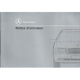 Notice d' Entretien 1990