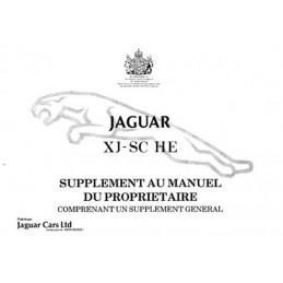 Notice d' Entretien  XJS-SC  HE
