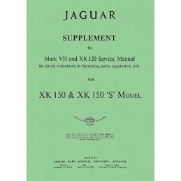 Manuel de Reparation XK 150