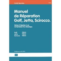 Manuel Reparation Golf 2 GTi