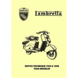 Manuel Reparation Lambretta