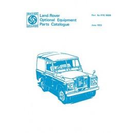 Catalogue de Pieces 1973