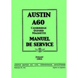 Manuel de Reparation A 60