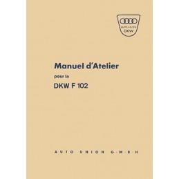Manuel d' Atelier F 102