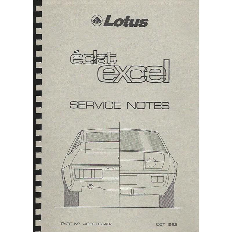 Manuel Reparation Eclat / Excel