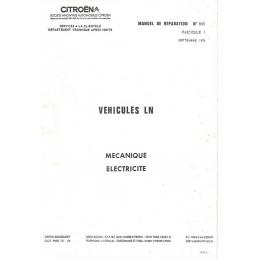 Manuel de Reparation LN