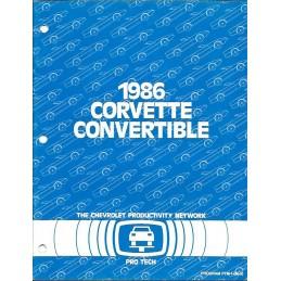 Manuel Corvette Convertible 1986