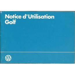 Notice d' Entretien 1983