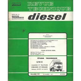 Revue Technique Diesel 1969