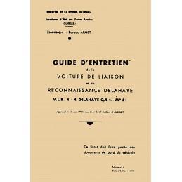 Notice d' Entretien VLR