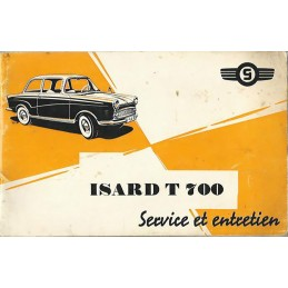 Notice Entretien Isard T 700