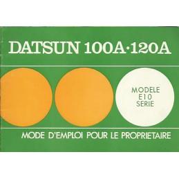 Notice d' Entretien 100A / 120A