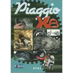 Manuel Entretien Piaggo X8