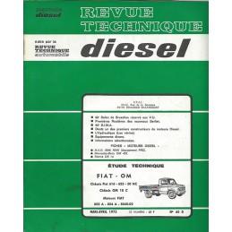 Revue Technique Fiat 616 / 625