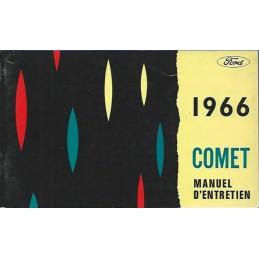 Notice d' Entretien Comet