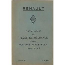 Catalogue de Pieces ZA 3