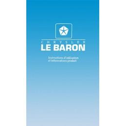 Notice Entretien Le Baron