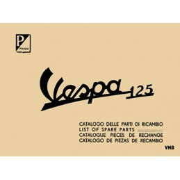 Catalogue Pieces Vespa 125