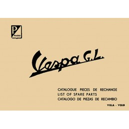 Catalogue Pieces Vespa 150 GL