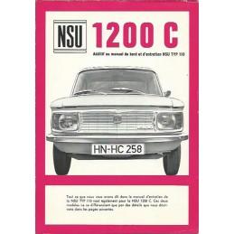 Notice Entretien 1200 C