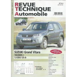 Revue Technique Grand Vitara
