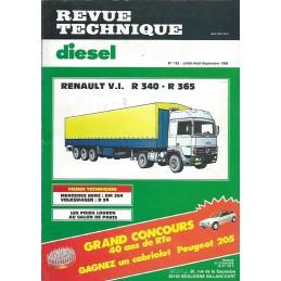 Revue Technique R 340 / R 365