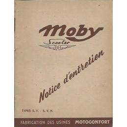 Notice Entretien Moby