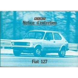 Notice d' Entretien  1979