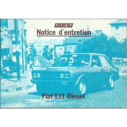 Notice Entretien 1980