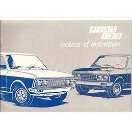 Notice Entretien 1972
