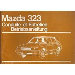 Notice d' Entretien 323