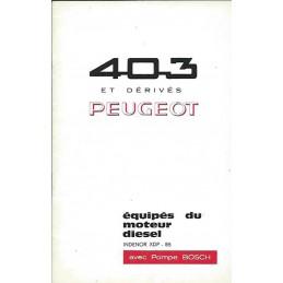 Notice Entretien Diesel 1966