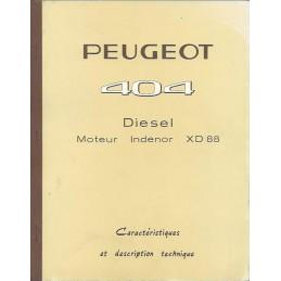 Caracteristiques Diesel XD 88