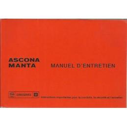 Notice d' Entretien  1975