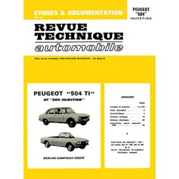 Revue Technique 504 CC Injection