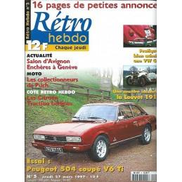 Retro Hebdo N° 5